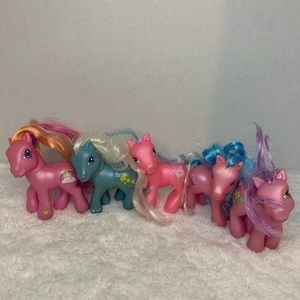 5 Assorted My Little Ponies.